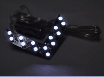 Frecce LED Arrow Led con 14 SMD BIANCO