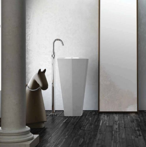 Lavabo freestanding monoblocco  CRYSTAL