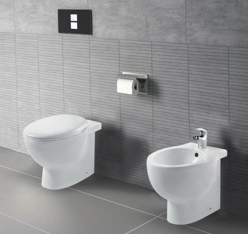 Sanitari moderni, wc, bidet, copriwater soft close FOXY